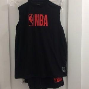 Boys Authentic NBA Short Set